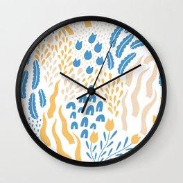 South Dream Pattern #1 Wall Clock