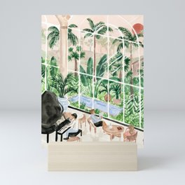 Resort Lobby Mini Art Print