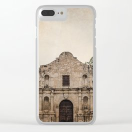 The Alamo Clear iPhone Case