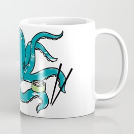Hungry Octopus Coffee Mug