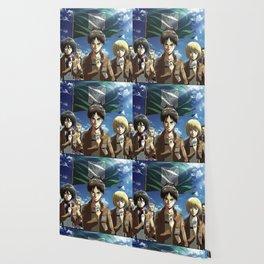 Attack On Titan Eren Yeager Armin Arlert Annie Leonhart Wallpaper