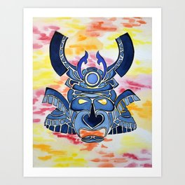 Sundown Samurai Art Print