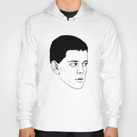 lou reed Hoodies featuring LOU REED by Mitch Meseke