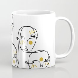 Mellow faces Coffee Mug