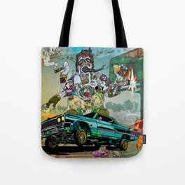 B-Side Low Ride Tote Bag