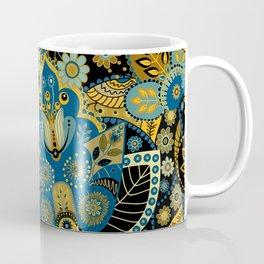 Khokhloma floral pattern Coffee Mug