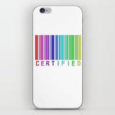 Gay Certified iPhone & iPod Skin