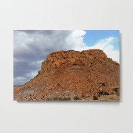 Buttes of New Mexico - On the Road to Santa Fe, No. 2 Metal Print