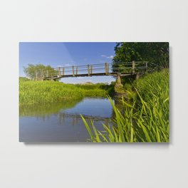 The Bridge across the river Metal Print