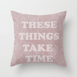 The best of (These things take time-The Smiths) Throw Pillow
