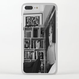 Alive raw Clear iPhone Case
