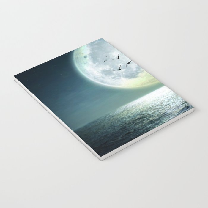 Full Moon Notebook
