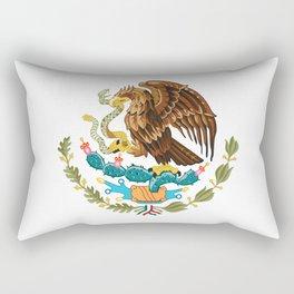 coat of arms of Mexico Rectangular Pillow