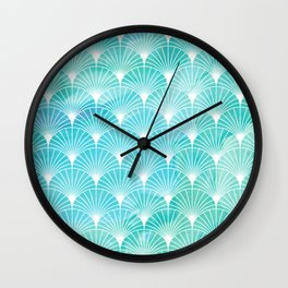 Mermaid Fans: Maldives Sea Wall Clock