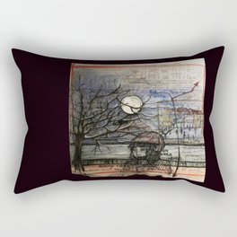 Nocturne appointement Rectangular Pillow