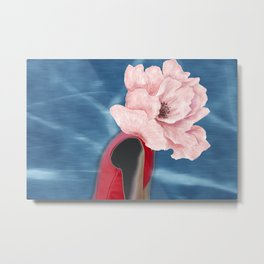 Blooming portrait Metal Print