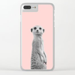Meercat Clear iPhone Case