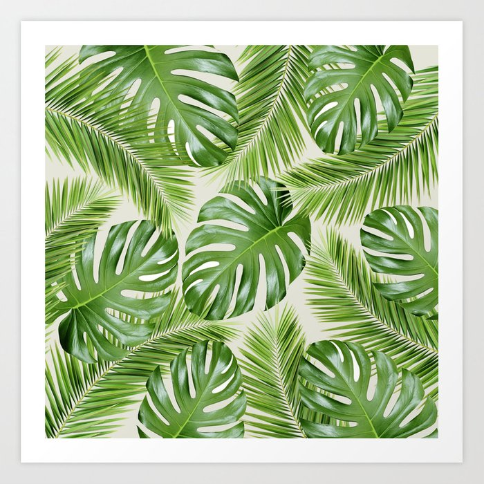 I Need a Tropical Vacation Print Art Print