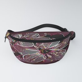 Floral Embosses: Pictorial Cherry Blossoms 01-04 Fanny Pack