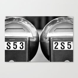 Meters Canvas Print
