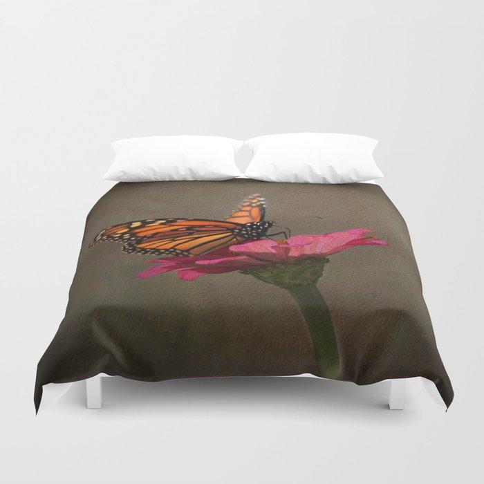 Prefect Landing - Monarch Butterfly Duvet Cover