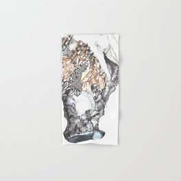 untitled (from the stone maiden series) Hand & Bath Towel