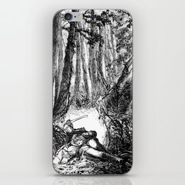 Murder in the Pines iPhone Skin