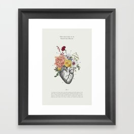 A Thriving Heart Framed Art Print