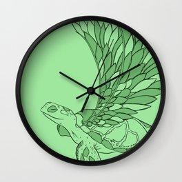 Flying Turtle Wall Clock