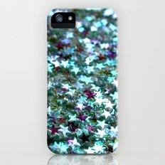Stars in Teal iPhone (5, 5s) Slim Case