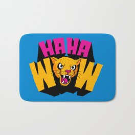 HAHA WOW COUGAR Bath Mat