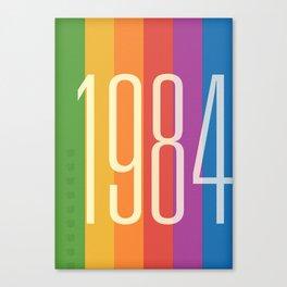 1984 (v) Canvas Print