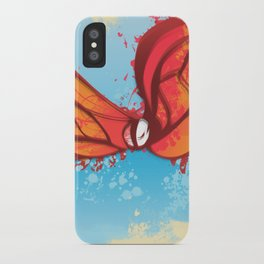 Digital Butterfly iPhone Case
