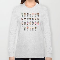 Harry Potter Alphabet Long Sleeve T-shirt