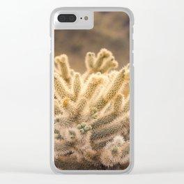 Super Bloom Cactus 7373 Clear iPhone Case