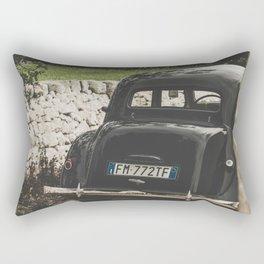 Citroën traction avant, Apulia photography, vintage car, old cars, sports car, Puglia photography Rectangular Pillow