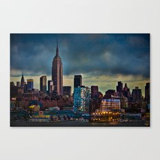 Midtown At Sunset Canvas Print