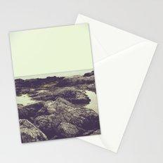 rocky coast Stationery Cards