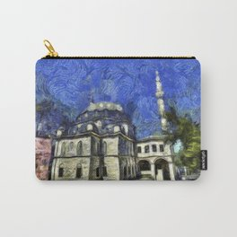 Istanbul Mosque Van Gogh Carry-All Pouch