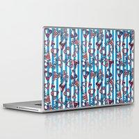 bikini Laptop & iPad Skins featuring bikini by lindseyclare