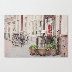 Bikes in Amsterdam Canvas Print