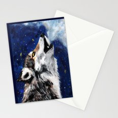 Wolf's breath Stationery Cards