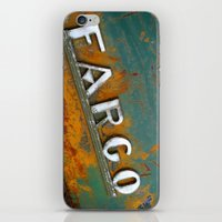 fargo iPhone & iPod Skins featuring Fargo by Photo by Malin Linder