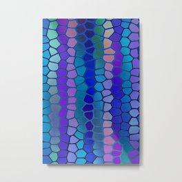Pattern - Mosaic 3 Metal Print