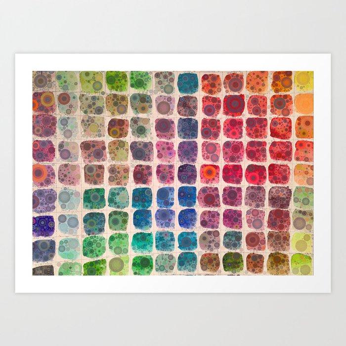 Paintbox Dreams Art Print