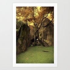 Yosemite Yellow Art Print