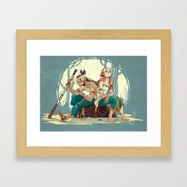Shou & Iah Framed Art Print