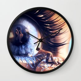 Show me love Wall Clock