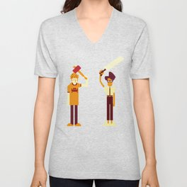 The IT Crowd: Masters of the ITverse! Unisex V-Neck