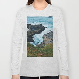 Standing on a Cliff Long Sleeve T-shirt